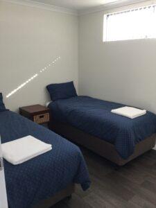 SECOND BEDROOM TWIN BEDS